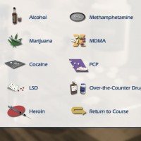 Drug Info menu illustration