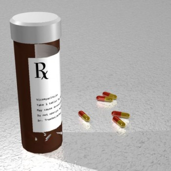 Pills 3d illustration
