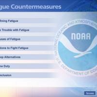 NOAA menu