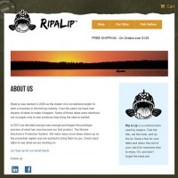Ripalip About web design