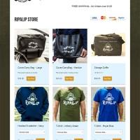Ripalip Store web design