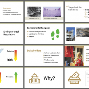 Environmental Compliance Video Storyboards